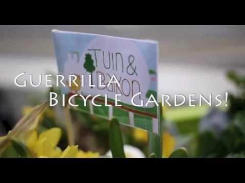 Tuinenbalkon.nl - guerilla bicycle gardens