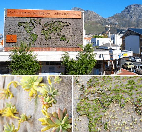 Verticale Tuin Balkon Verticale Tuin in Zuid Afrika