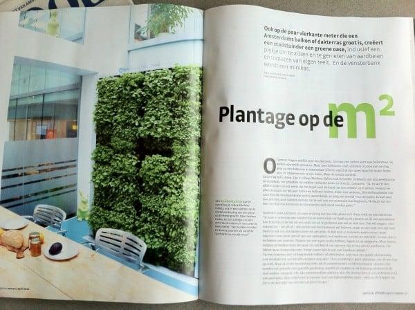 Het Parool - tuin en balkon - spread