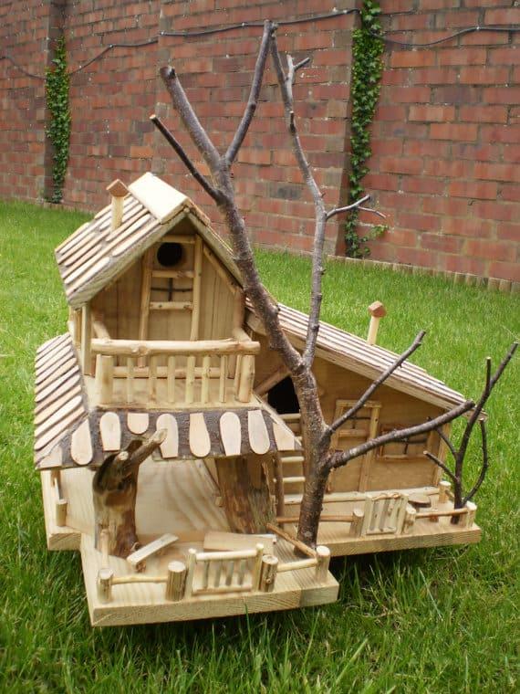 Vijf Design Vogelhuisjes Van Etsy Tuin En Balkon