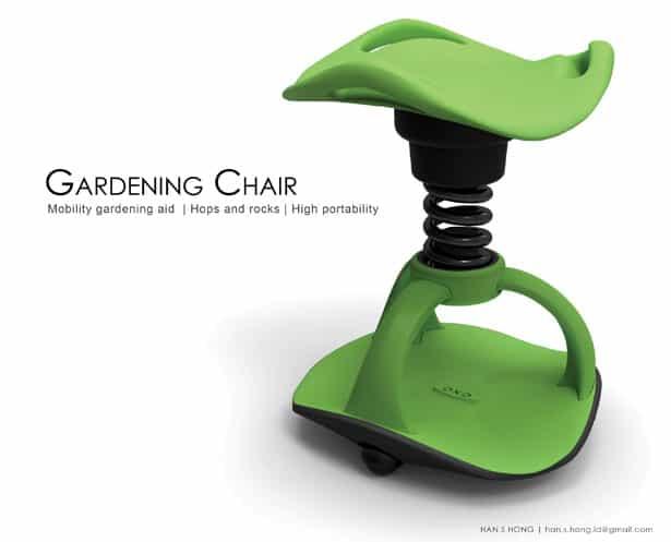stoel voor tuinieren