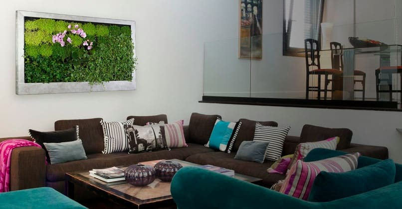 Terapia urbana verticale tuinen uit andalusi tuin en for Planten schilderij intratuin