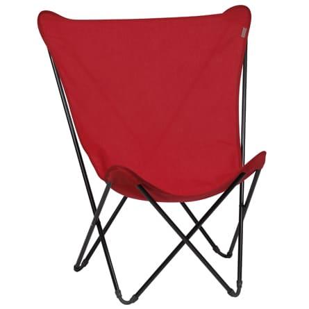 Lafuma-stoel-inklapbaar-rood
