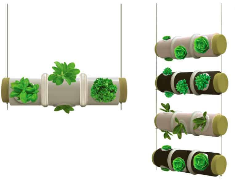 een kruidentuin in je keukenlamp  tuin en balkon, Meubels Ideeën