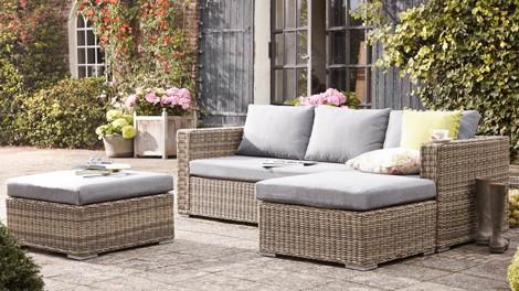 Welke tuinmeubels aluminium hout of nep rotan tuin en balkon - Tuinmeubelen laag aluminium ...
