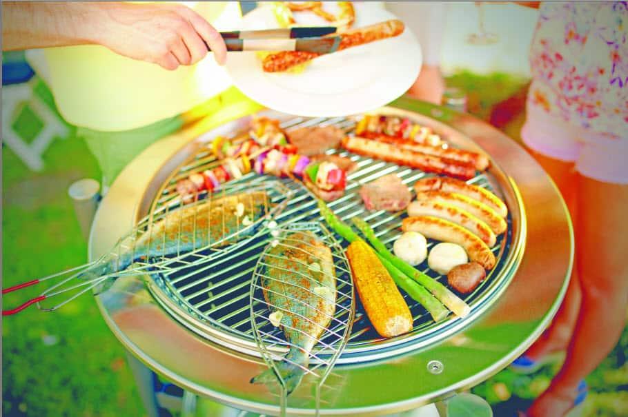 barbecue - closeup