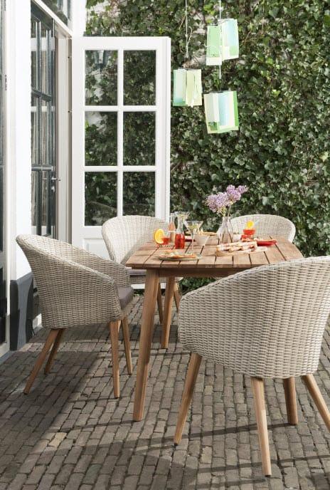 Nieuwe betaalbare lijn tuinmeubels van blokker en leen bakker tuin en balkon - Stof voor tuinmeubilair ...