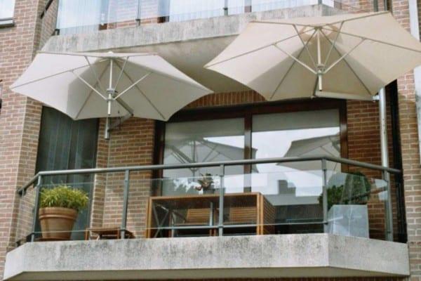 Geliefde Beste parasol en zonwering voor op je balkon | Tuin en Balkon ZI16