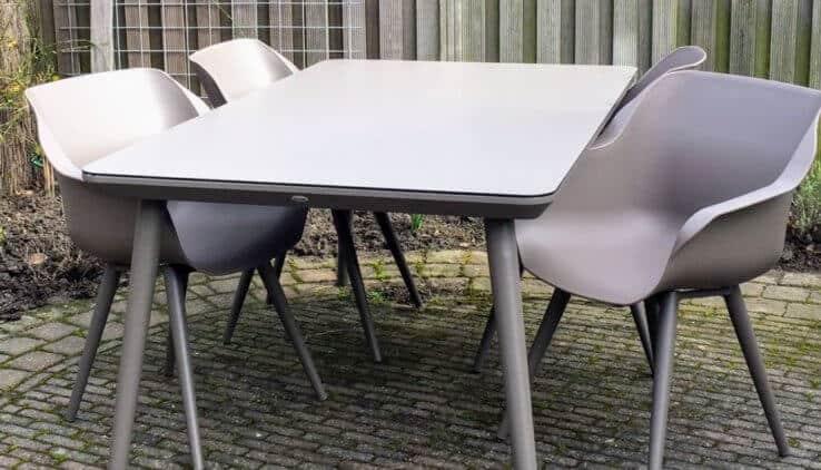 Hartman stoelen tuinset met hartman tuinstoelen en tafel with